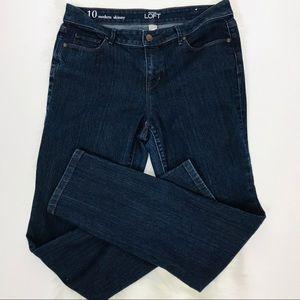 LOFT Jeans - Ann Taylor Loft Modern Skinny Jeans - Size 10